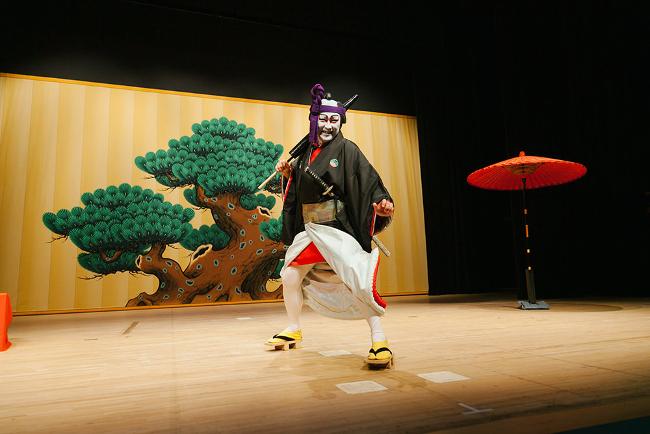 歌舞伎風の説明会