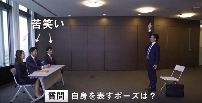 渡辺氏が思う自分自身のポーズ